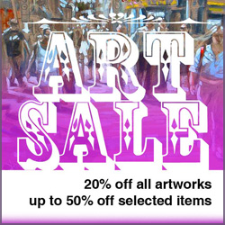 ART SALE 2011... at least 20% off all items